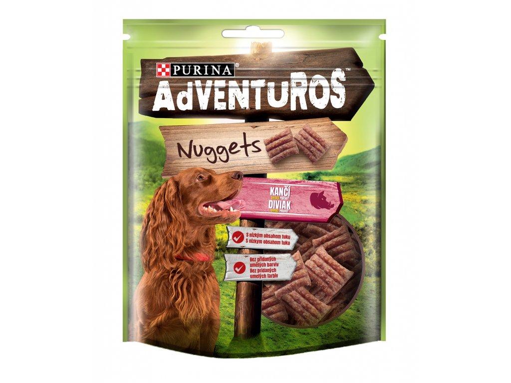 ADVENTUROS Snack Nuggets kančí 90g