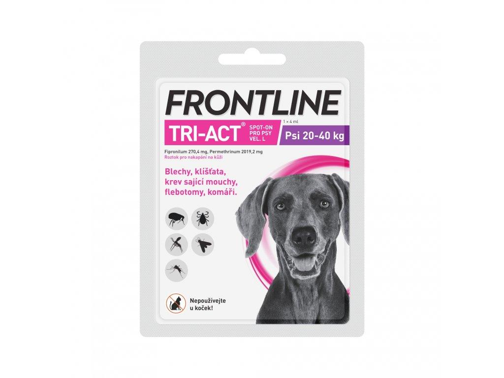 Frontline antiparazitika TRI-ACT Spot-on Dog 4ml L