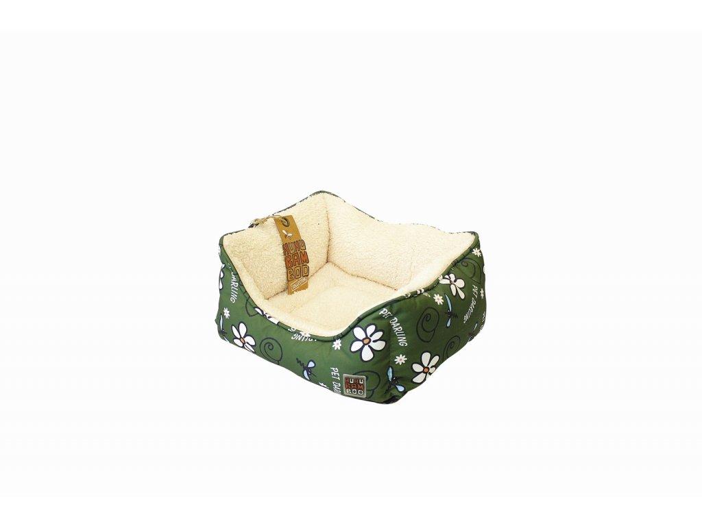 Pelech Huhubamboo Lux khaki šnek M 46 cm