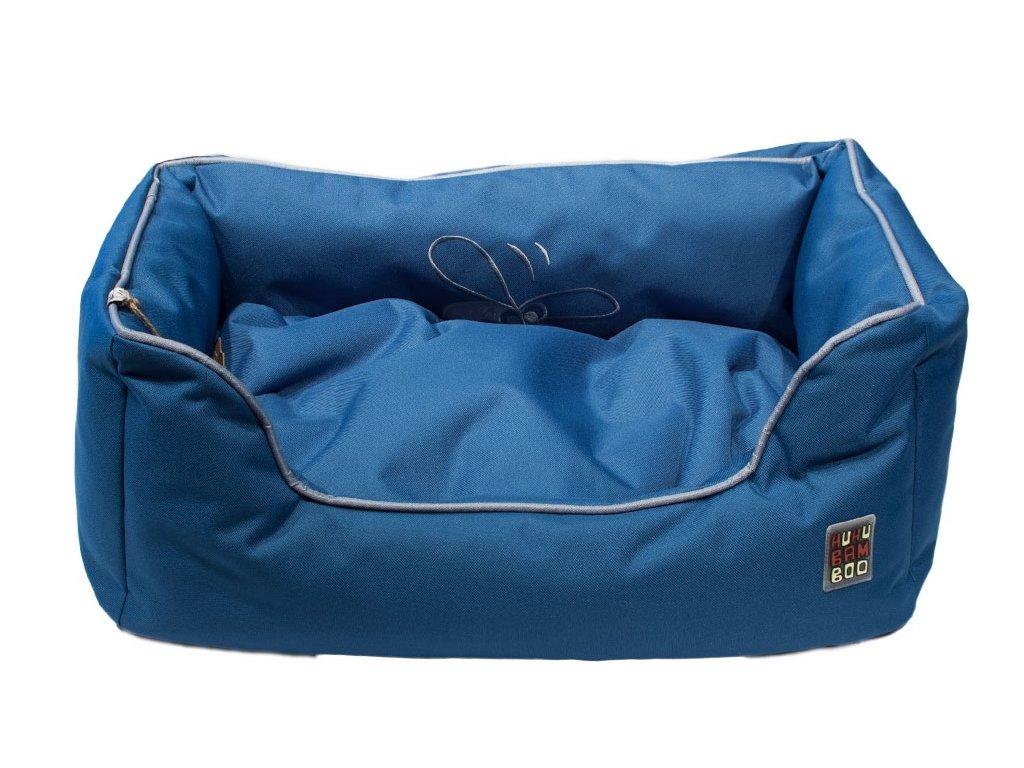 Kanape Huhubamboo modrá šedá 85x56cm