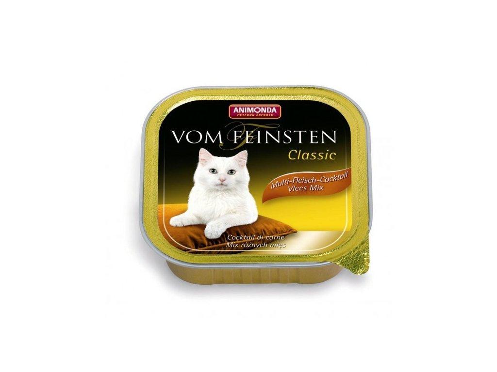 Animonda Vom Feinsten Classic paštika pro kočky multimasový koktejl 100g