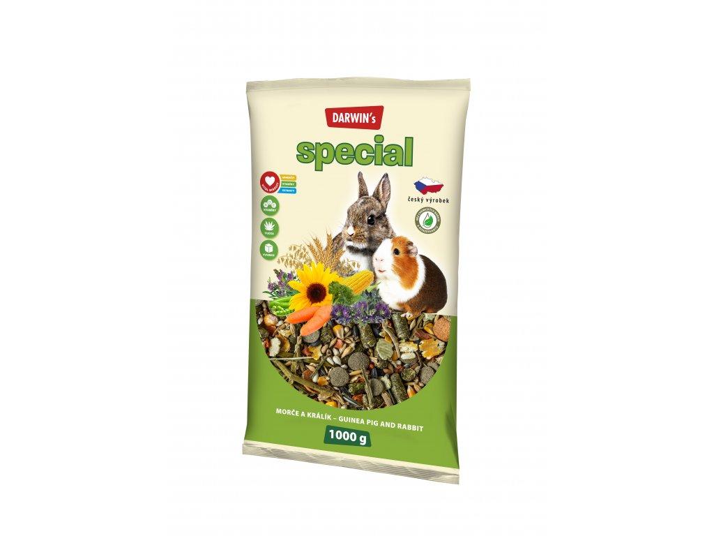 Darwin's Special morče, králík 1kg