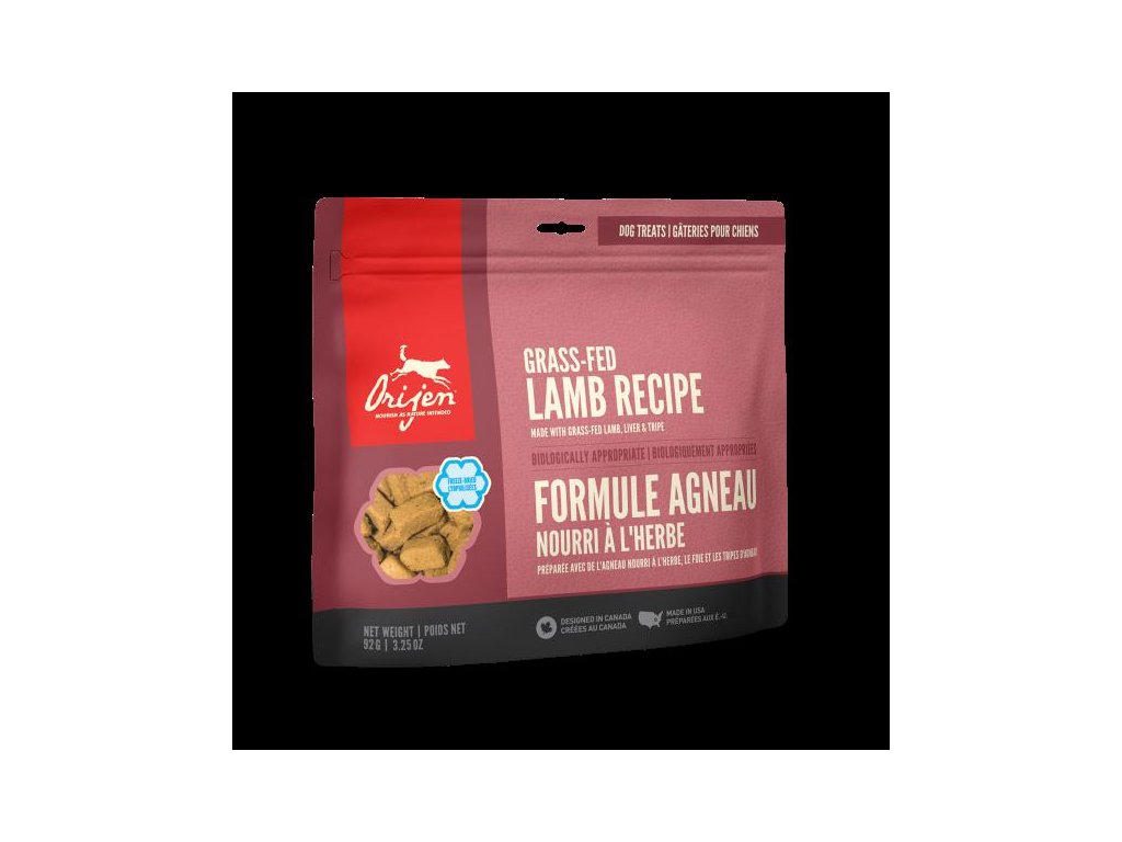 Orijen Freeze Dog snack Alberta Lamb 92g