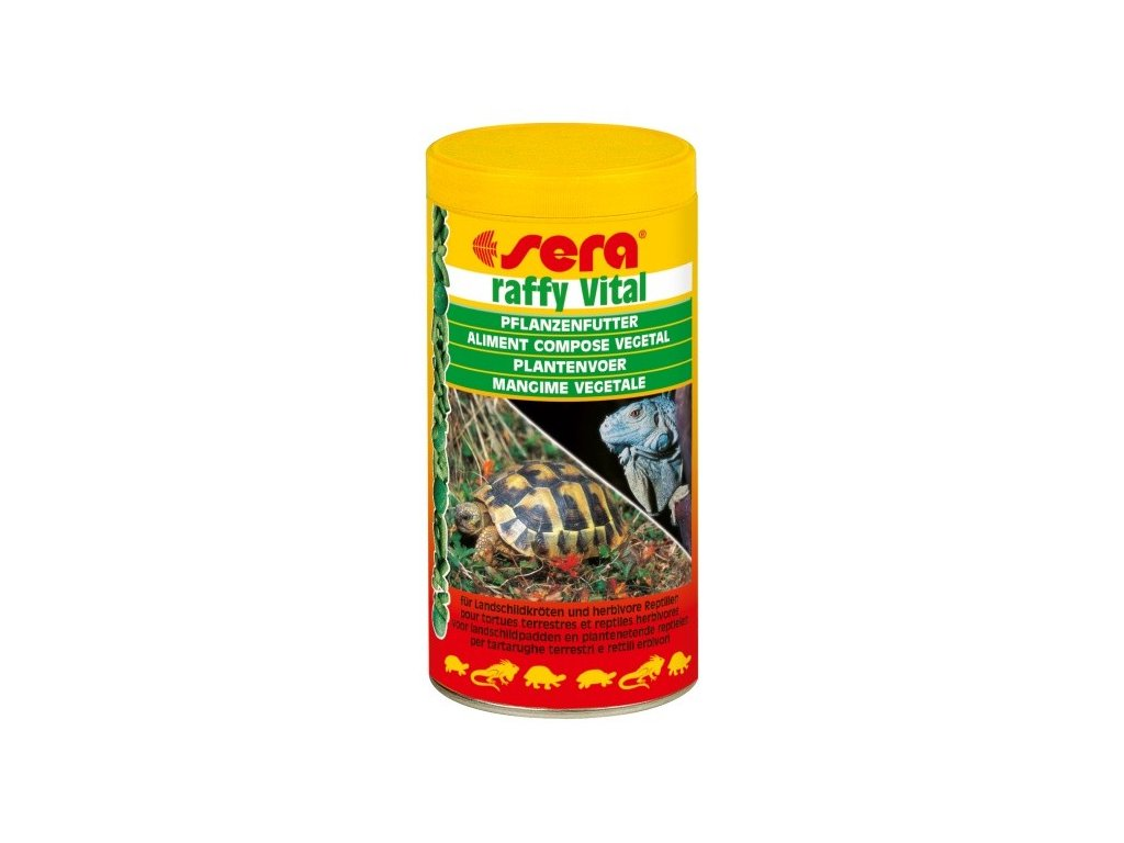 Sera krmivo pro býložravé plazy Raffy Vital 250ml