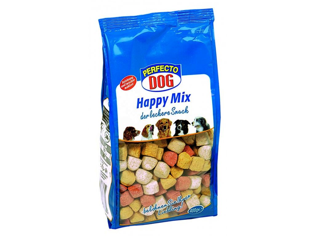 Perfecto Dog sušenky Happy Mix 400g