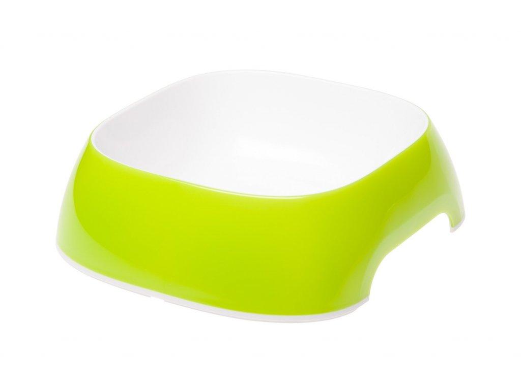 Ferplast GLAM střední sytě zelená miska