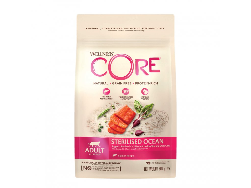 Wellness CORE Sterilised Salmon Recipe 300g