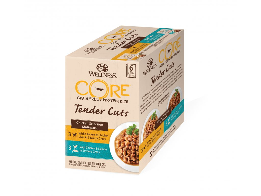 Wellness CORE Tender Cuts Chicken Selection Multipack