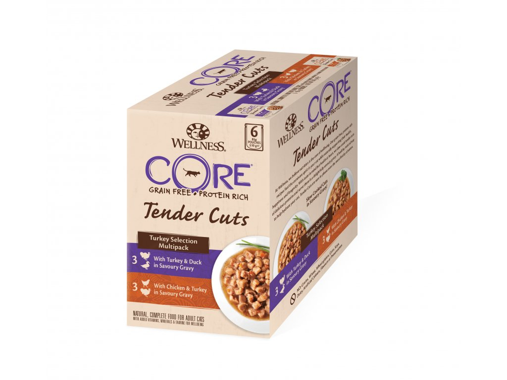 Wellness CORE Tender Cuts Turkey Selection Multipack