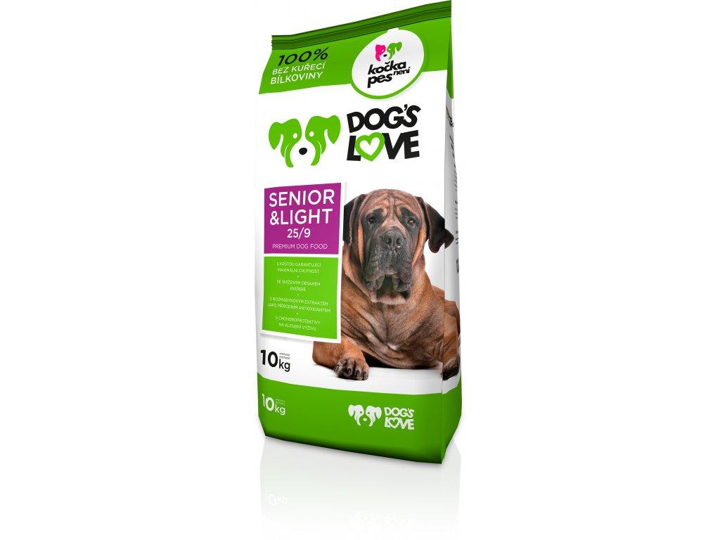 Dogs love Senior&light 10kg