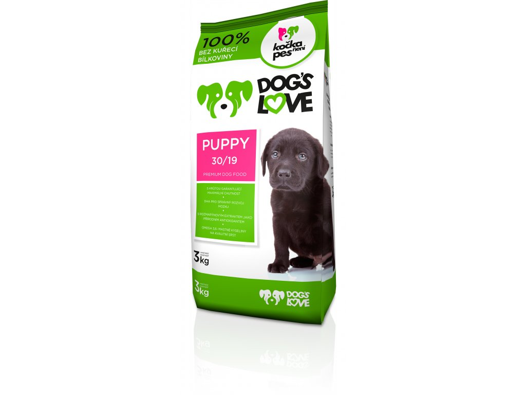 Dogs love Puppy 3kg (expirace: 1.6.2021)