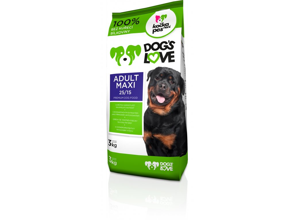 Dogs love Adult Maxi 3kg
