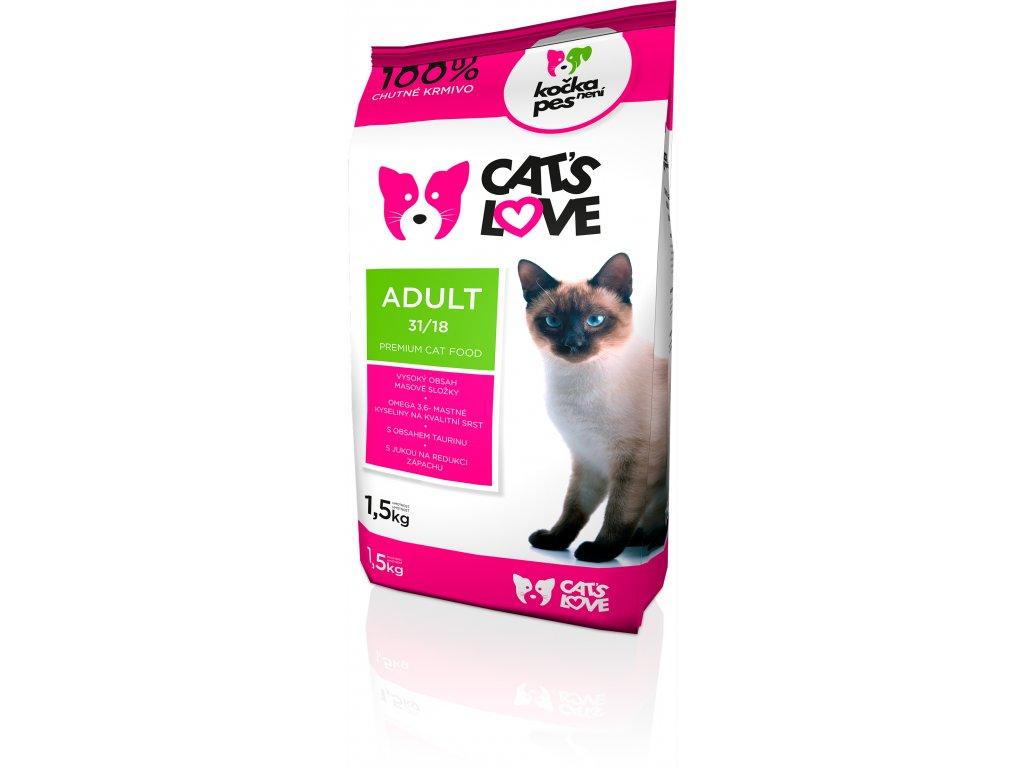 Cats love Adult 1,5kg