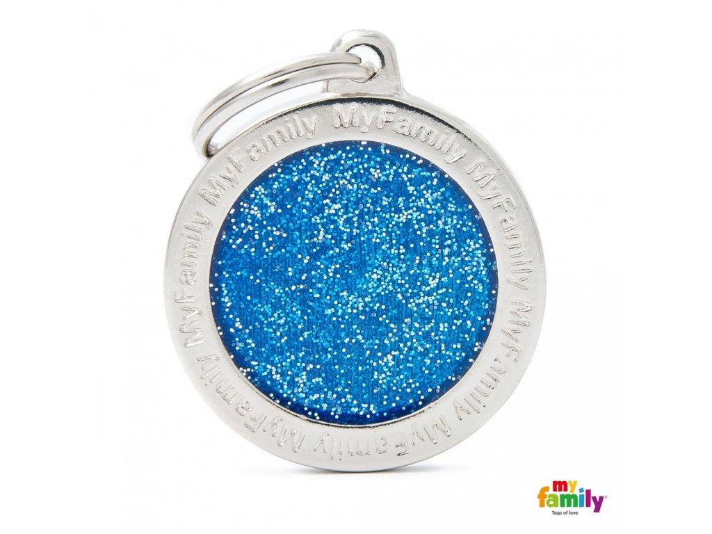 Známka Shine - kroužek modry
