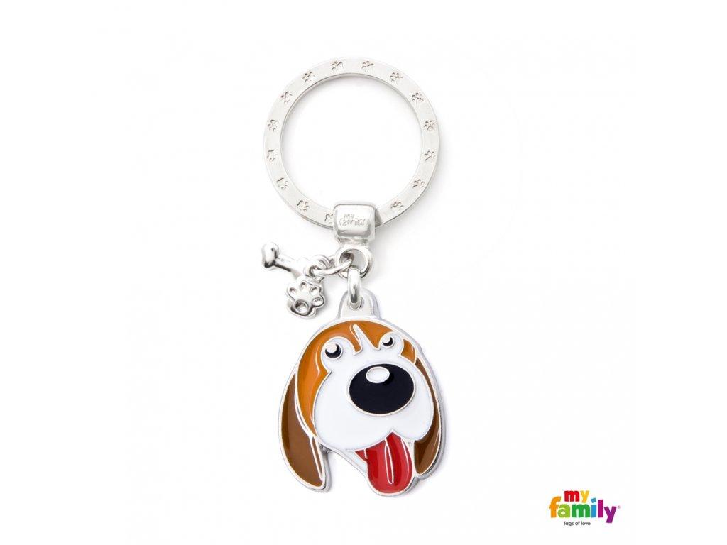 Známka Colors - beagle