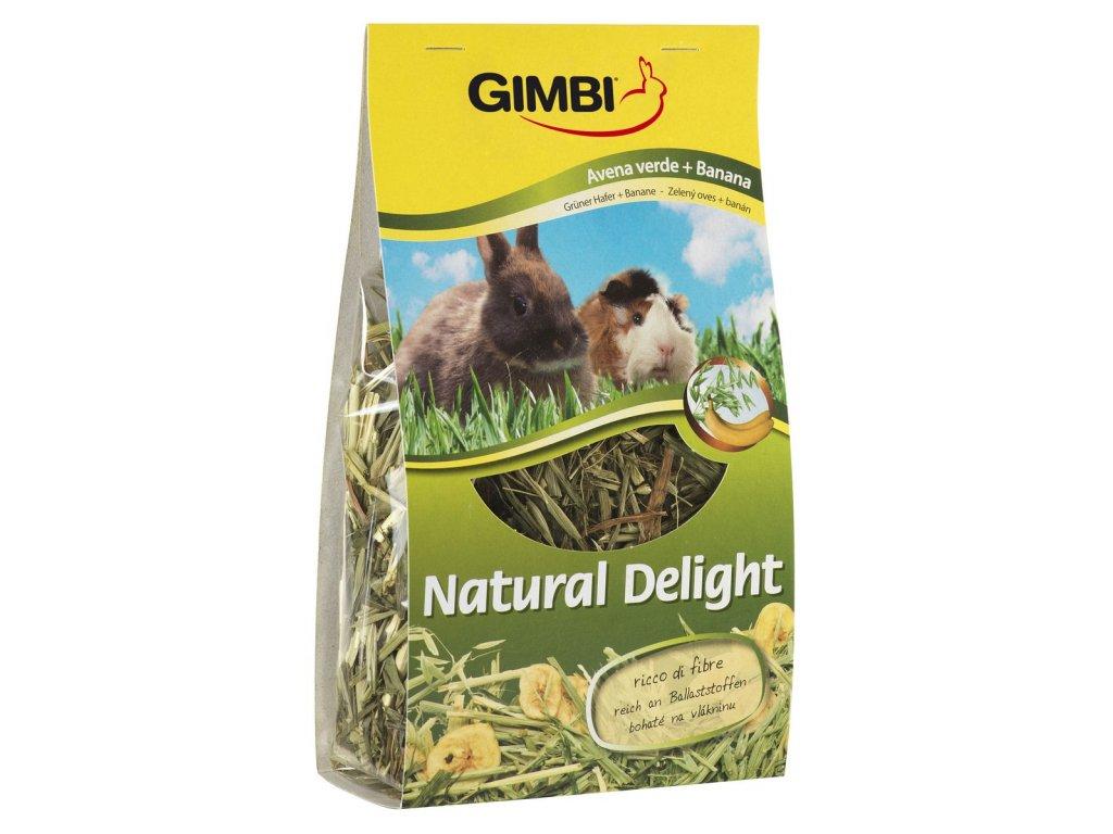 Gimborn Natural Delight oves+banán 100g