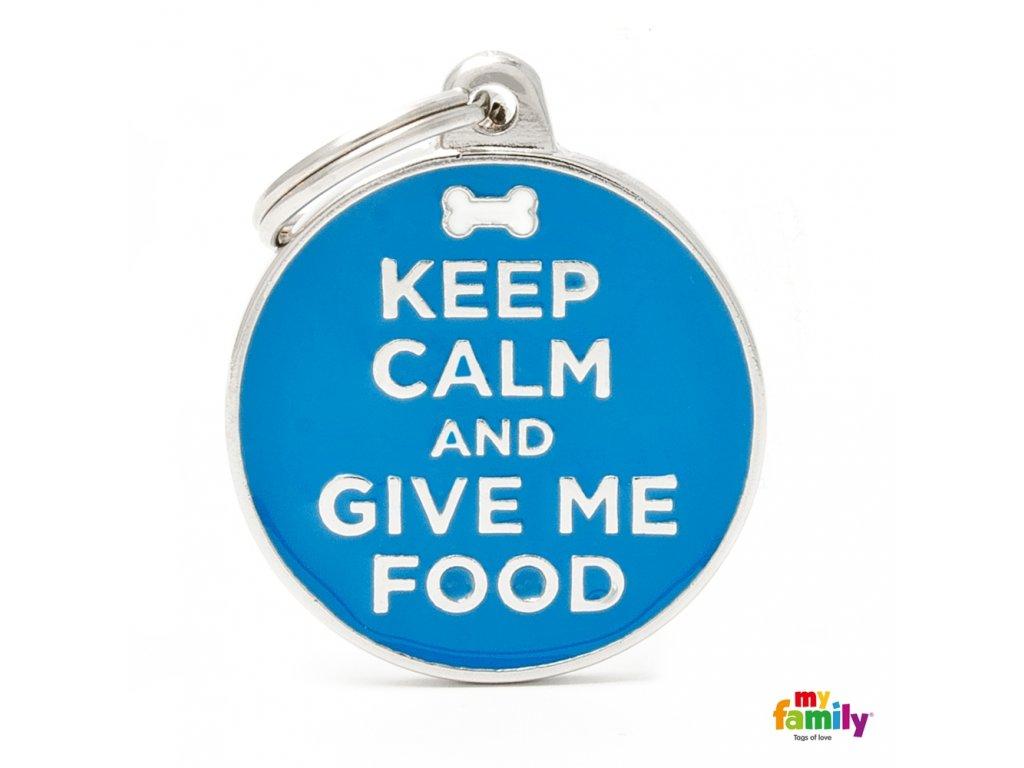 Známka Charms - KEEP FOOD