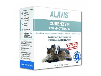 Alavis Curenzym Enzymoterapie 20 cps.