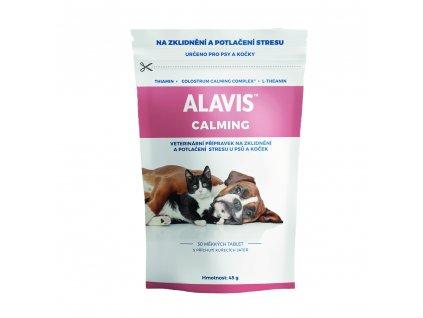 ALAVIS Calming pro psy a kocky 45 g