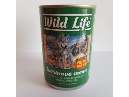 Wild Life superpremium pate se zvěřinou 400g