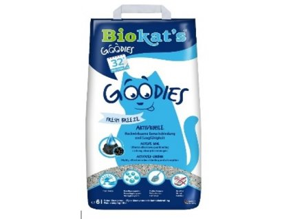 Biokat's Goodies s aktivnim uhlim 6l