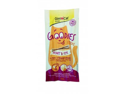 Gimcat Goodies Sticks Heart and Eye 15g