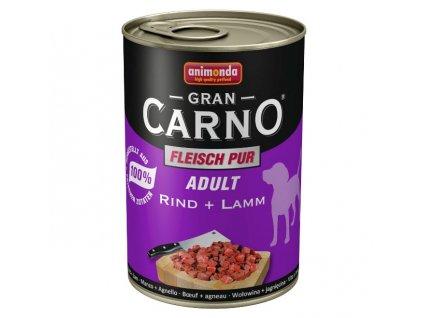 Animonda GranCarno Adult konzerva pro psy hovězí+jehněčí 800g