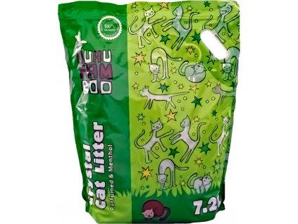 Podestýlka Huhubamboo silikon mentol 7,2l