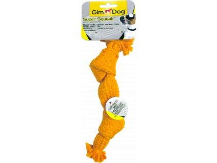 Hračka Gimborn pískací uzel pro psy 23 cm