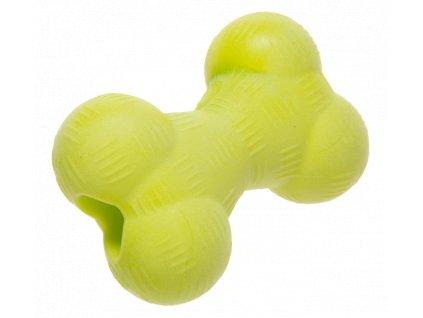 Hračka Gimborn tvrdá guma kost 11,4 cm