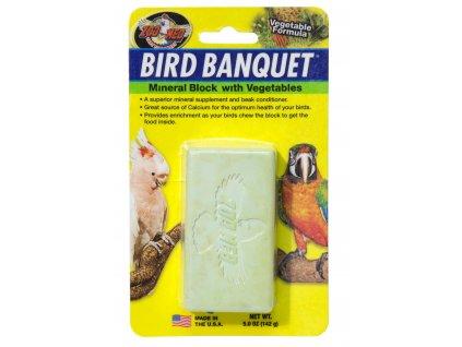 Bird Banquet minerální blok se zeleninou L
