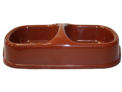 Stabilní miska plastová 22x12x5cm