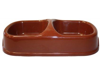 Stabilní miska plastová 24,5x13,5x6cm