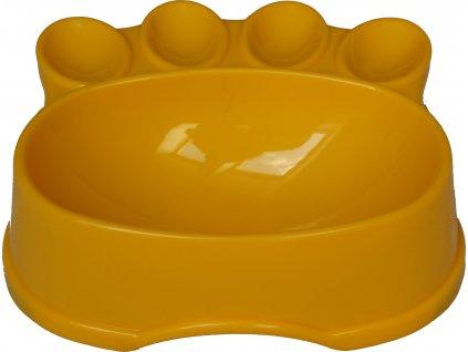 Plastová miska ve tvaru packy