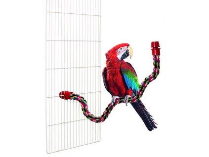 Karlie tvarovací bidlo pro ptáky 66cm