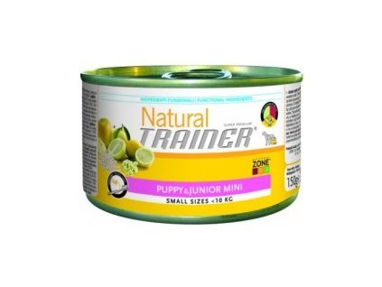 Konzerva TRAINER Natural Small&Toy Puppy&Junior 150g