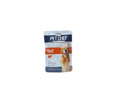 Pet Chef Dog kapsička pro psy hovězí 100g