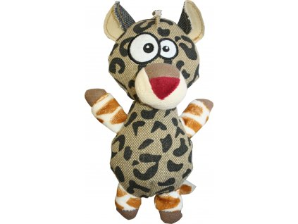 Hračka Huhubamboo Zvířátko leopard Vera