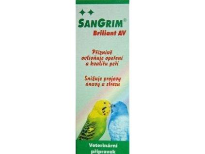 Sangrim Brilliant AV pro ptáky 20ml