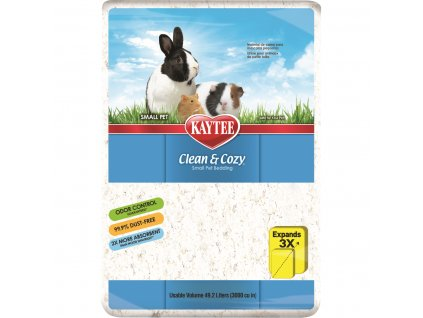 Podestýlka Kaytee CLEAN&COZY 49.2L