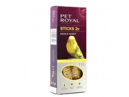 Pet Royal stick andulka vejce-med 2ks