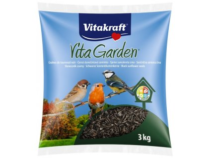 Vitakraft Vita Garden Classic slunečnice černa 3kg