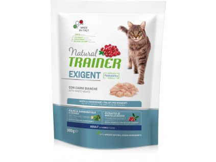 Trainer Natural Cat Exigent drůbeží maso 300g