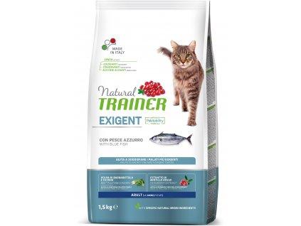 Trainer Natural Cat Exigent mořská ryba 1,5 kg
