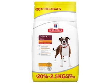 AKCE Hills Canine Science Plan Adult Light Chicken 12+2,5kg ZDARMA (expirace: červen 2020)