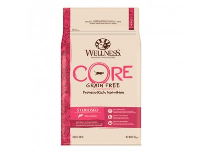 Wellness Cat Sterilised losos 10kg