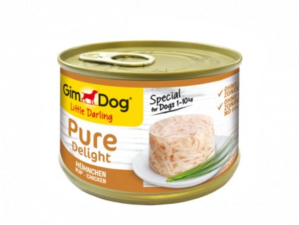 GIMDOG Little Darling PURE DELIGHT CHICKEN 150G_x005F_x000D_