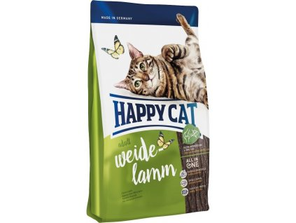 Happy cat Supreme FIT&WELL ADULT jehně 10kg