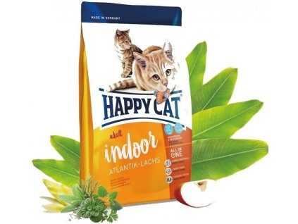 Happy cat Supreme FIT&WELL ADULT INDOOR losos 10kg