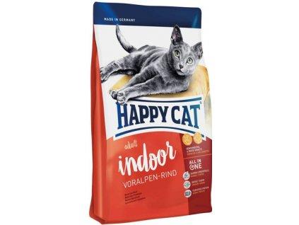 Happy cat Supreme FIT&WELL ADULT INDOOR hovězí 10kg